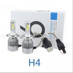 TOYIKIE-1Set-H4-72W-7600LM-COB-Chip-C6-LED-Headlight-36W-3800LM-Car-LED-Headlight-Bulb