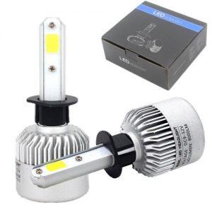 Автомобилни LED Крушки - H1 - 6500K - 8000LM - Изключително плътна светлина. Директен монтаж. Директен вносител на LED Крушки за България!