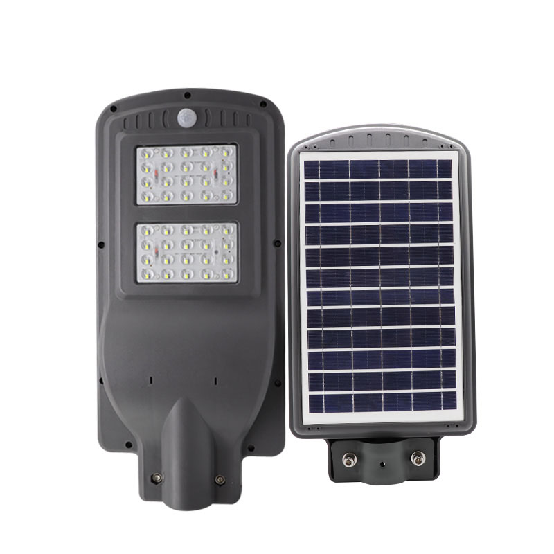 интегрирано LED осветление със соларно захранване, подходящо за външен монтаж като осветление за пътищата, паркове, градини, вили, външен паркинг, както и навсякъде, където липсва електрозахранване или има нужда от самостоятелно осветление. Напълно влаго-изолирана, с вграден високо ефективен поликристален соларен панел с мощност от 8W 6V и литиево-йонна акумулаторна батерия 3.7V 6000mAh. Вградената литиево – йонна батерия действа като акумулатор и съхранява енергия, за да може в дните, в които няма никаква слънчева радиация, осветлението да продължава да работи (до 24 часа в пестящ режим).